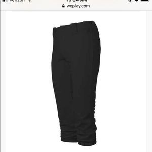 Woman's Fast Pitch Softball Pants - Excellent